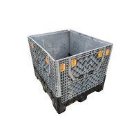 Palettenbox aus Kunststoff, Magnum Optimum, gebraucht, faltbar, 1200x1000x975mm