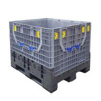 Palettenbox und Palette, einklappbar, 813 l, 1200x1000x975mm