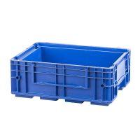 R-KLT Behälter 4315, geschlossener Boden mit Verrippung, verstärkte Wände, blau, 396x297x147,5mm