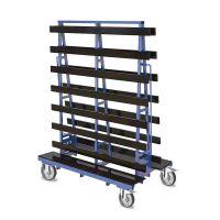 Plattenwagen 1000 kg 1500x785x2000 mm - doppelseitig