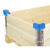 Stapelecken für Aufsatzrahmen aus Kunststoff