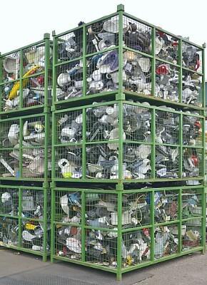 Geeignete Logistikverpackungen für das Elektro-Recycling-Verfahren verwenden