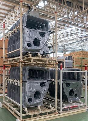 Nachhaltigkeit in der Automobilindustrie durch Mehrweglogistik