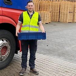 """Flutkatastrophe - Rotom Deutschland stellt dem Deutschen Roten Kreuz Aachen und """"Meckenheim hilft"""" Hilfsgüter für Aufräumarbeiten zur Verfügung"""